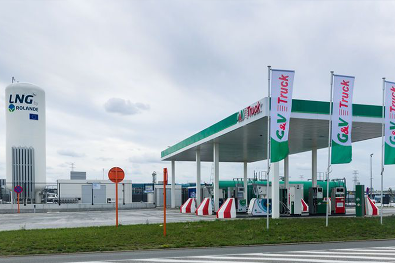 Rolande LNG tankstation Antwerpen